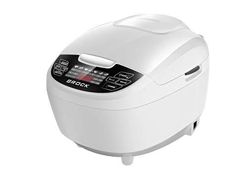 Brock Electronics Mc-5104-W Robot de Cocina Multifunción, 860 W, 5 litros, 5 Decibeles, Polímero Libre de BPA, 51 Velocidades, Blanco