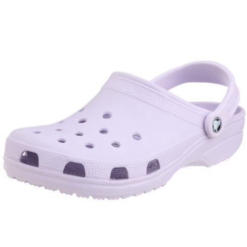 Crocs Classic, Unisex-Erwachsene Clogs, Violett  (Lavender),  42/43 EU