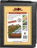 Siena Garden 621154 Anti-Unkrautvlies 30 g - schwarz 10 m x 0.8 m