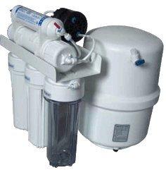 Umkehrosmose Wasserfilter Anlage RO5 mit Permeatpumpe -