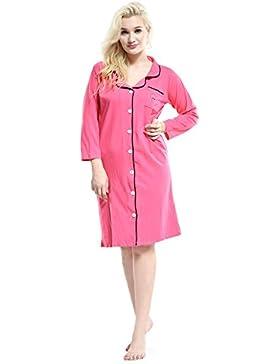 Pink -  Camicia da notte  - Donna