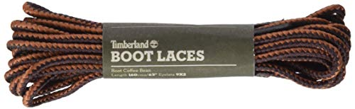 Timberland Boot Lace 63-inch Schnürsenkel, braun (Coffee Bean), Einheitsgröße (160 cm)