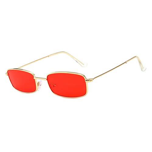 QUINTRA Sonnenbrille Unisex unverwechselbare Candy Color Metallgläser Jelly Sunshade Sonnenbrillen