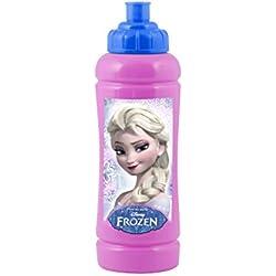 Home Disney Frozen Borraccia, Viola, 420 cc