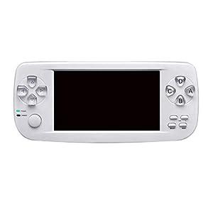 MapleDE Mode Handheld-Spielkonsole, PSP-Handheld-Spielkonsole gegenseitige Unterhaltung 16GB Farbbildschirm-Spielkonsole Pap, Top-Ten-Simulator 3000 Kreatives Spiel