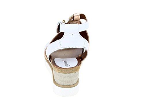 Skechers S221001-3 3, Sandales Pour Femmes Blanches