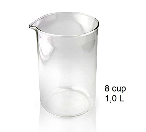 ersatzglas-ersatzbecher-fur-kaffeebereiter-french-press-8-tassen-1000ml