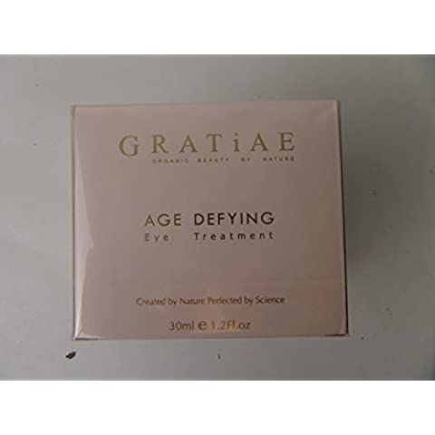 Gratiae Organic Beauty By Nature Age Defying Eye Treatment Care Cream
