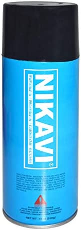 NIKAVI Spray Paint (Matt Black, 400ml)