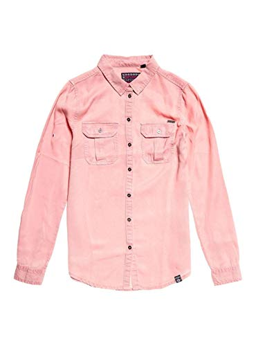 Zoom IMG-1 superdry camicia donna xenia rosa