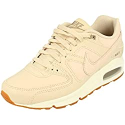 Nike WMNS Air Max Command PRM, Chaussures d'Athlétisme Femme, Multicolore Oatmeal/Sail/Khaki 100, 41 EU