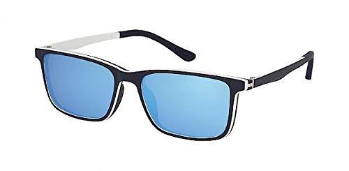 Solano Clip-On Brillen Fassung mit Magnet Sonnenclip CL 90072 E 55[]17-145