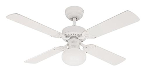 Westinghouse Vegas Ceiling Fan – White/Washed Pine