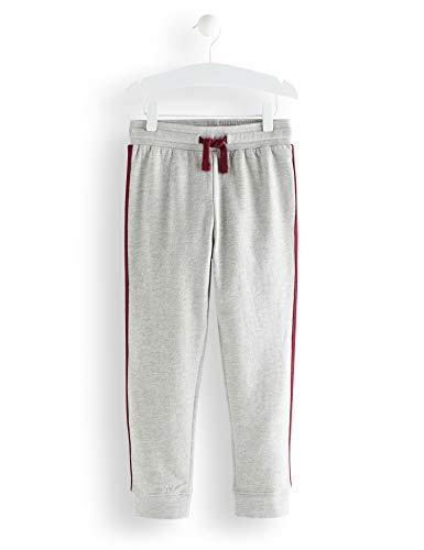 RED WAGON Stripe Detail Jogger Pantaloni Bambino, Grigio (Grey), 122 (Taglia Produttore:...
