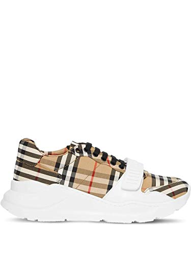 BURBERRY Luxury Fashion Herren 8020282 Beige Sneakers |