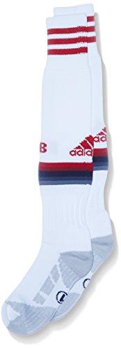 adidas Herren Socken FC Bayern München Replica Spieler-Auswärtssocken 1 Paar, White/Power Red/Night Navy/Bold Onix, 46-48, AH4799648 (Bold Socken)