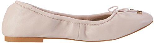 Buffalo 216-6219 Nappa Leather, Ballerines Femme Rose (Nude 01)