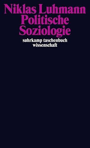 Politische Soziologie (suhrkamp taschenbuch wissenschaft)