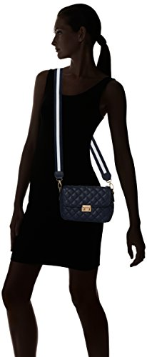 PIECES Damen Pcnanci Cross Body Umhängetasche, 6 x 13 x 20 cm Blau (Navy Blazer)