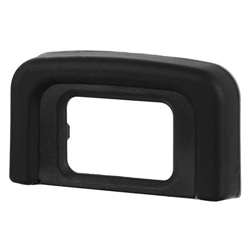 Movoja® Augenmuschel DK-25 für Nikon D5600 / D5500 / D5300 / D5200 / D3300 / D3200 / D3400 Eyecup | Okular Sucher | Okularmuschel | Ersatz-Schutz | Okular-Protector | Linsenmuschel | 5404