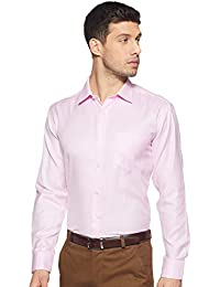 Amazon Brand - Symbol Men's Regular fit Formal Shirt