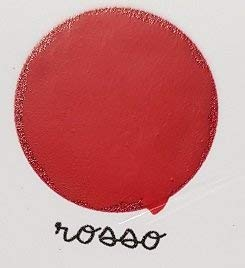 Lavagna Paint Mille colori - Pittura effetto lavagna con Gessetti - Colore Rosso - Adatto per tutte le superfici! - da 500 ml - Confezione per 3,5 MQ in 2 mani!