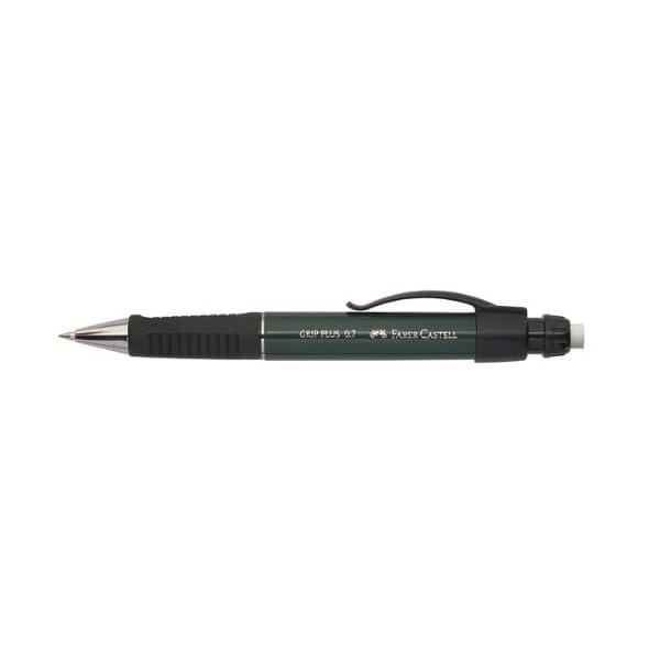 Faber Castell 570733 – Portaminas, 0.7 mm, color verde