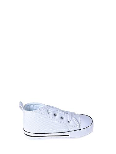 Converse First Star Cuir 022130-12-3 Unisex - Kinder Sneaker, Weiß (Blanc), 17 EU -
