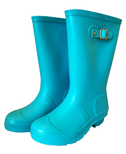 Jileon Lightweight Comfortable Kids Wellies in Durable PVC