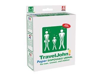 TravelJohn - Sacchetto Urine da Viaggio Portatile