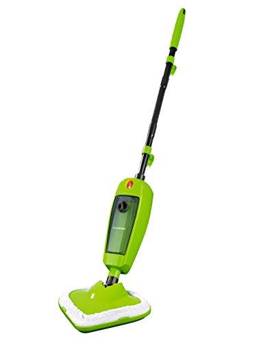 CLEANmaxx 01784 Dampfreiniger | 1000W | Dampfbesen | für hygienische Sauberkeit