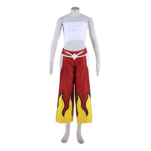 Sunkee Fairy Tail Cosplay Erza Scarlet Kostüm, Größe L ( Alle Größe Sind Wie Beschreibung Gesagt, überprüfen Sie Bitte Die Größentabelle Vor Der Bestellung ) (Erza Cosplay Kostüm)