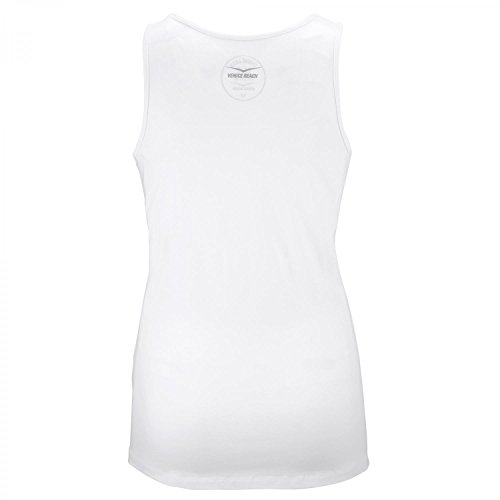 Venice Beach Damen Tanktop Lilliamo Long Weiß