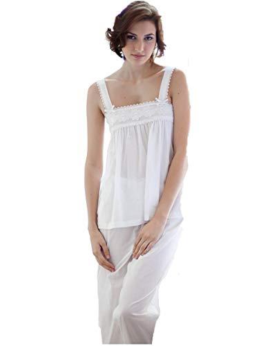Cottonreal Hesper Baumwoll-Rasen-Pyjamas -