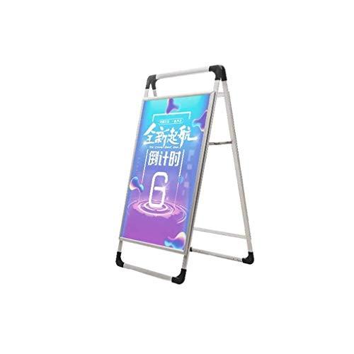 LXJYMX Plakatständer Material: Aluminium-RahmenSpezifikationen: 60 * 90 cmStyle: Europäische Zeichen Stehen (Vertikale Zeichen Zu öffnen)