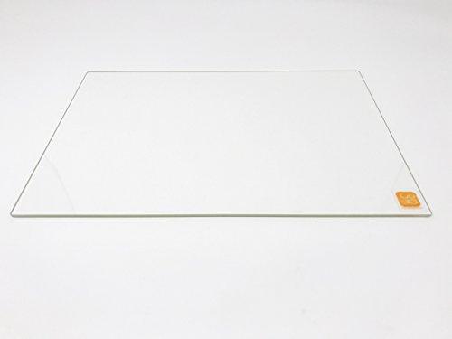 Plato de cristal de borosilicato de 214 mm x 314 mm, borde pulido para cama de 200 x 300 impresoras 3D con calefacción