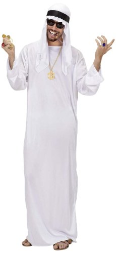 Widmann - Erwachsenenkostüm - Saudi Arabien Kostüm