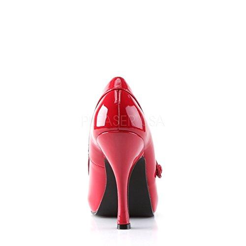 Higher-Heels, Scarpe col tacco donna Vernice, rosso