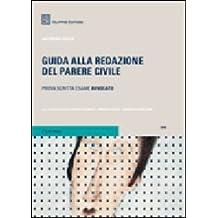 Guida alla redazione del parere civile