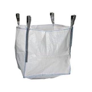 5x Nuevo FIBC Bulk bolsas de residuos de jardinería 1tonelada ton Jumbo bolsas de almacenamiento saco