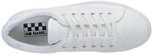 No Name Plato, Baskets mode femme Blanc (White/Fox/White)