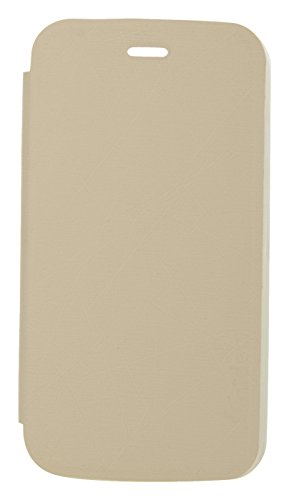 iCandy Soft TPU Non Slip Back Shell PU Leather Hybrid Flip Cover for Motorola Moto G 1st Gen - White  available at amazon for Rs.135