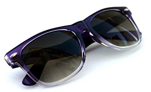 Lolablossom Retro 50er 60er Jahre Sonnenbrille lila transparent
