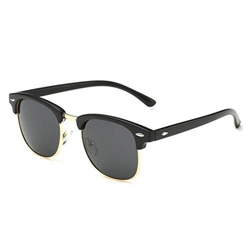 QHGstore Uomini Donne Sport Occhiali da sole polarizzati occhiali di protezione UV di vetro di (Vetro Occhiali)