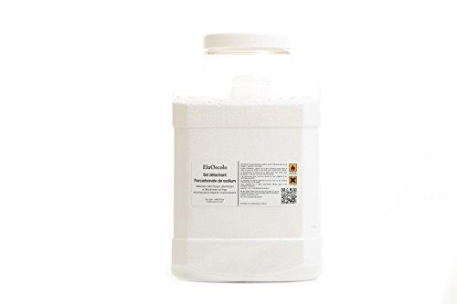 EluOecolo - Percarbonate de Soude 5kg - Oxygène actif <12% - doseur à l'intérieur - Détachant & blanchissant - Made in Nice