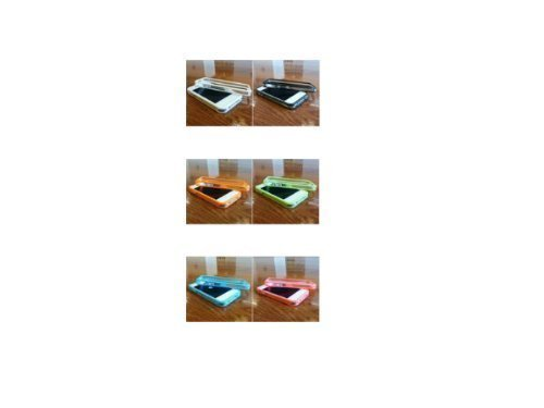Avcibase 4260310640501 Bumper Schutzhülle für Apple iPhone 4/4S (6-er Pack) klar
