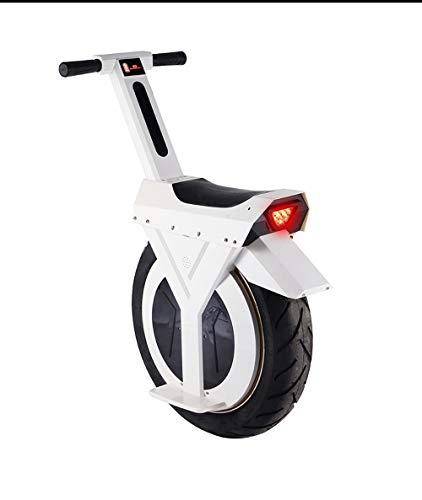 Monociclo Eléctrico Autoequilibrante De Una Rueda con Rueda De Entrenamiento Negro,White,60
