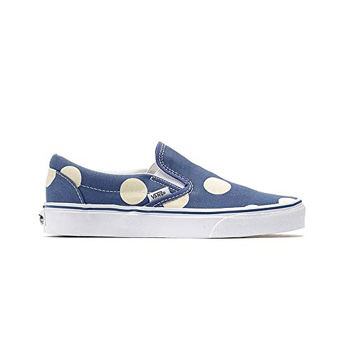 vans - Classic Slip ON - Polka Dots Navy, Dimensione:41