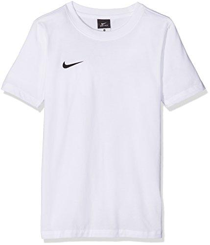 Nike t-shirt à manches courtes yth blend tee club team Multicolore - Blanc/noir