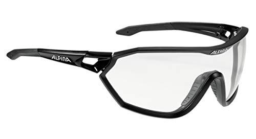 Alpina Erwachsene Radhelm D-Alto LE Black matt, One Size